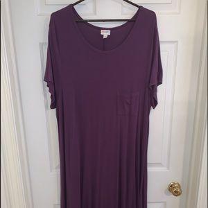 Purple LuLaRoe Carly